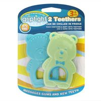 Griptight 2 Teethers - Blue & Green from Griptight