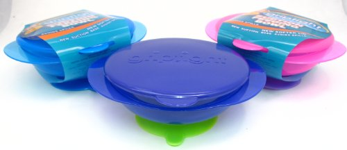 Griptight - Pink Suction Base Feeding Bowl from Griptight