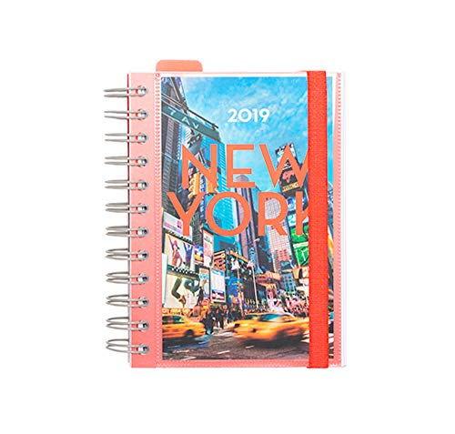 Grupo Erik Editores AGEDP1911 - Year Planner 2019 with New York Design, Pagan Day from Grupo Erik Editores