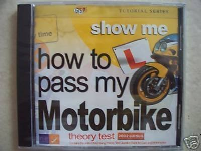 How to pass my Motorbike theory test from GSP