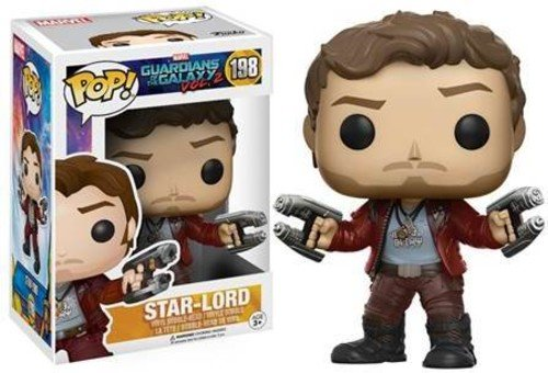 Funko Pop! Movies: Guardians of the Galaxy Vol 2 - Star Lord Vinyl Figure (Random model) from Guardians O/T Galaxy 2