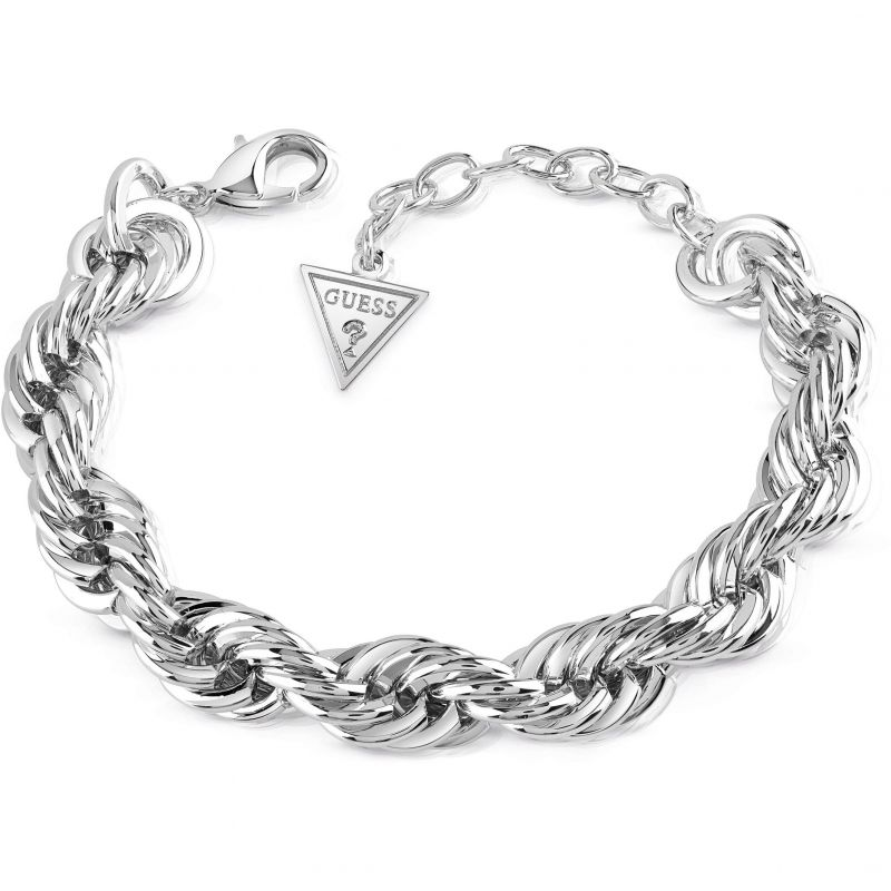 Ladies Guess Silver Plated Dream Girl Bracelet from Guess Jewellery