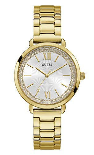 Guess Womens Analogue Quartz Watch with Stainless Steel Strap W1231L2 from Guess