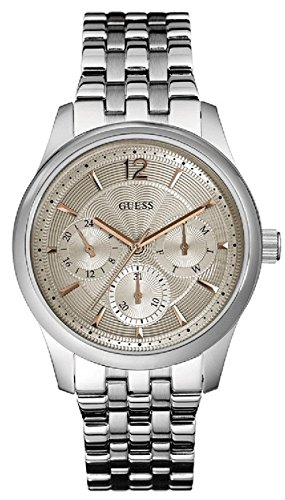 Guess Men's Analogue Quartz Watch with Stainless Steel Strap W0474G2 from Guess