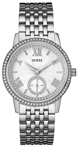 Guess Women's Analogue Quartz Watch with Stainless Steel Bracelet – W0573L1 from Guess