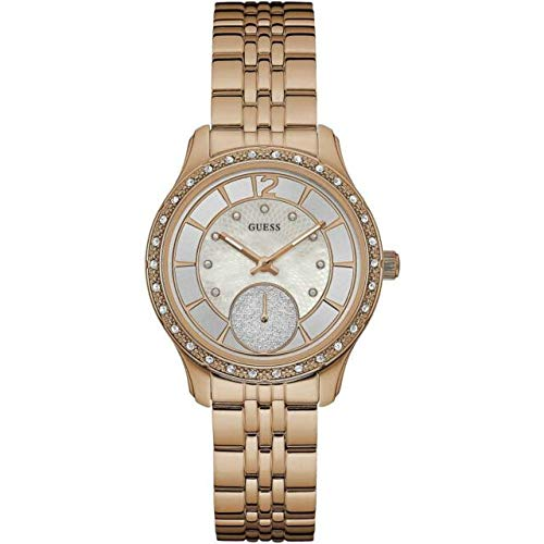Guess Womens Analogue Quartz Watch with Stainless Steel Strap 91661472114 from Guess