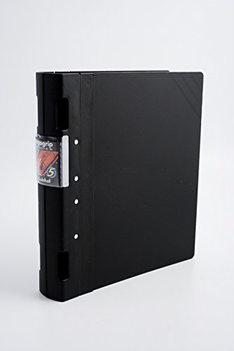 Exacompta Guildhall GLX Ergogrip Binder, 314 x 280 mm, 55 mm Spine, 4 Ring, A4 - Black from Exacompta