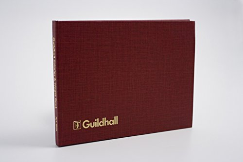 Exacompta Guildhall Wages & Salaries Book, 149 x 203 mm, 54 Weeks, 18 Employees, 21 Columns from Exacompta