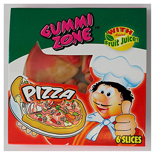 ( 6 Pack) Gummy Pizza - 25.5g x 24 from Gummi Zone