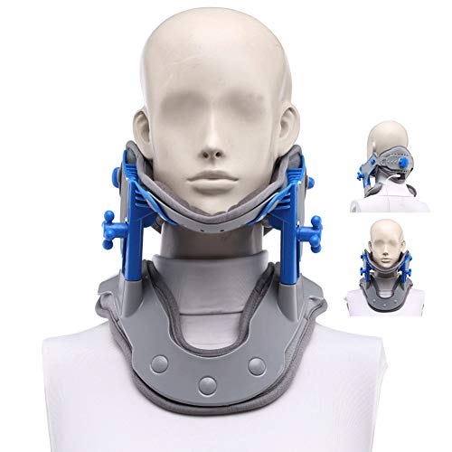 Gxnimer Cervical Neck Traction Device, Neck Stretcher Correction Repair Physiotherapy Spine Massager For Home Traction Spine Alignment - Neck & Shoulder Pain Relief from Gxnimer