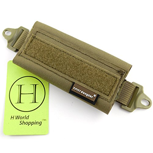 H World Shopping Emerson Tactical Helmet Balancing Weight Bag Counter Balance Battery Pouch for OPS FAST BJ PJ MH Tactical Helmet Accessory(CB) from H World Shopping