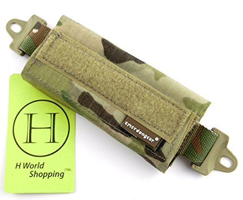 H World Shopping Emerson Tactical Helmet Balancing Weight Bag Counter Balance Battery Pouch for OPS FAST BJ PJ MH Tactical Helmet Accessory(Multicam) from H World Shopping
