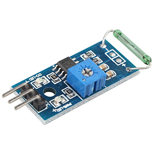 HALJIA Reed Sensor Module Magnetron Module Reed Switch MagSwitch For Arduino from HALJIA®