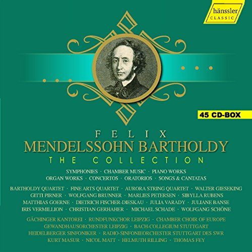 Felix Mendelssohn Bartholdy - The Collection [Various] [Hanssler Classic: HC16052] from HANSSLER CLASSIC