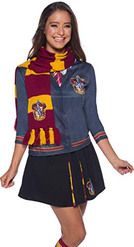 Rubie's Official Harry Potter Gryffindor Deluxe Scarf, Costume Accessory Adults / Childs One Size Age 6 Years from Rubie's
