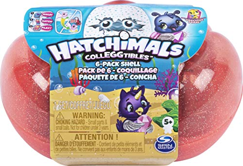 HATCHIMALS 6046155 Colleggtibles Series 5 6 Pack Sea Shell, Mixed Colours from HATCHIMALS