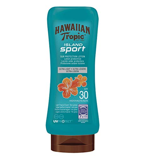 Hawaiian Tropic SPF 30 Island Sport Sun Tan Lotion 180 Millilitres from HAWAIIAN Tropic