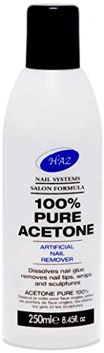 HAZ Pure Acetone Nail Polish Remover 250 ml from HAZ