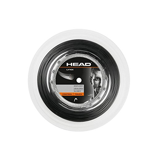 HEAD Lynx Racquet String - Multi-Colour, Size 17/200 m from HEAD