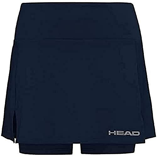 HEAD Women's Club Basic Skort, Dark Blue, X-Small from HEAD