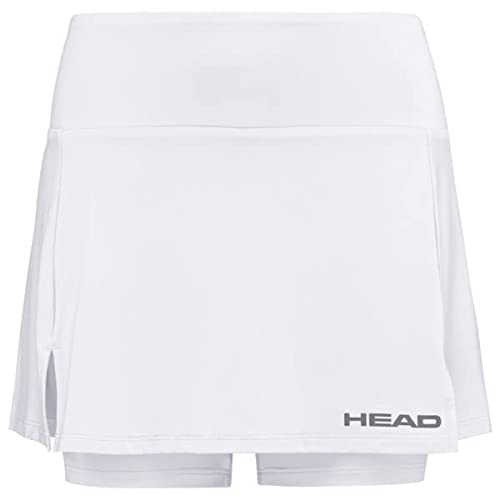 HEAD Women's Club Basic Skort, White, Small from HEAD