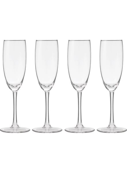 HEMA 4-pack Champagne Glasses 190ml from HEMA