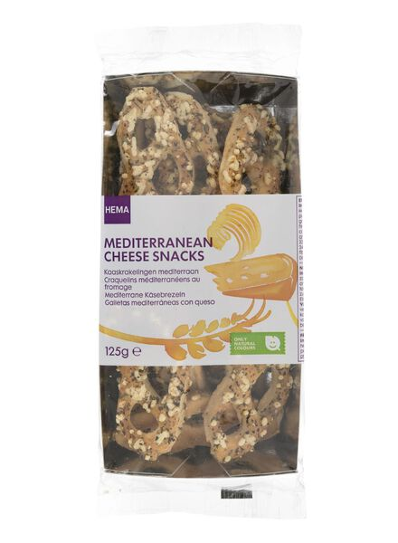 HEMA Cheese Pretzels Mediterranean - 110 Grams from HEMA