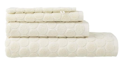 HEMA Towels - Heavy Quality - Dotted Ecru (ecru) from HEMA