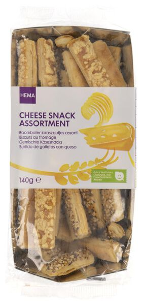 HEMA Assorted Savoury Snacks With Butter And Cheese - 140 Grams from HEMA