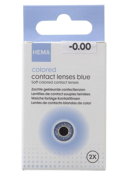 HEMA Coloured Contact Lenses - Blue (blue) from HEMA