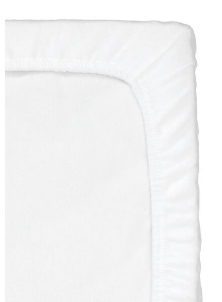 HEMA Flannel Fitted Sheet Crib 40 X 80 Cm (white) from HEMA
