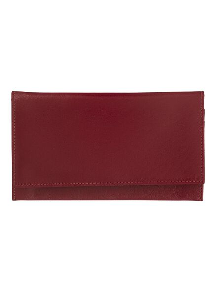 HEMA Leather Purse (red) from HEMA