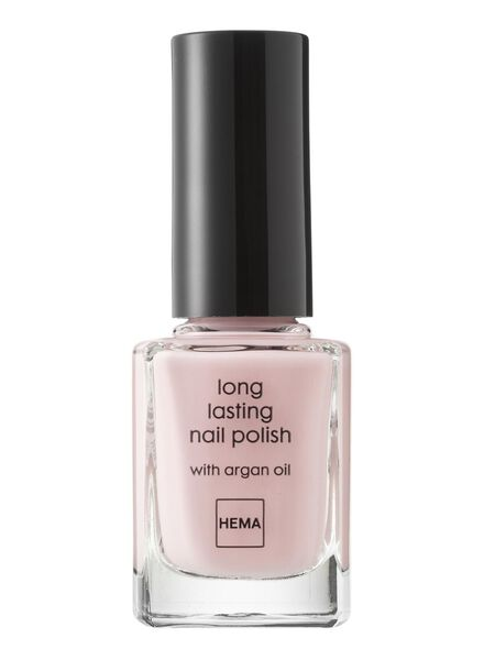 HEMA Long-lasting Nail Polish (light pink) from HEMA