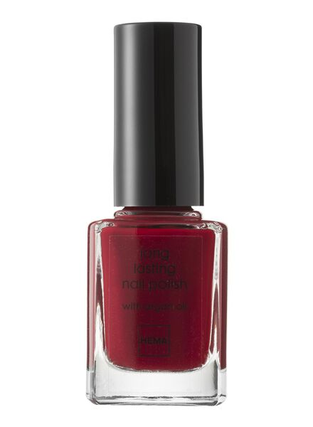 HEMA Long-lasting Nail Polish (dark red) from HEMA