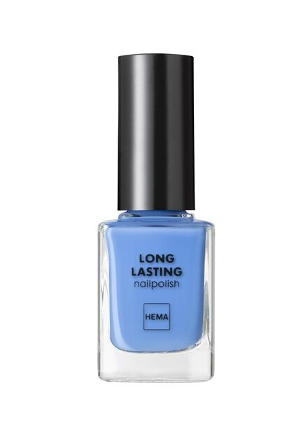 HEMA Long-lasting Nail Polish (bright blue) from HEMA