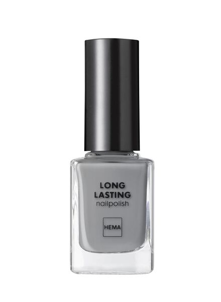 HEMA Long-lasting Nail Polish (light grey) from HEMA