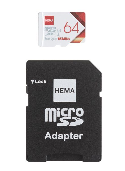 HEMA Micro SD Memory Card 64GB from HEMA