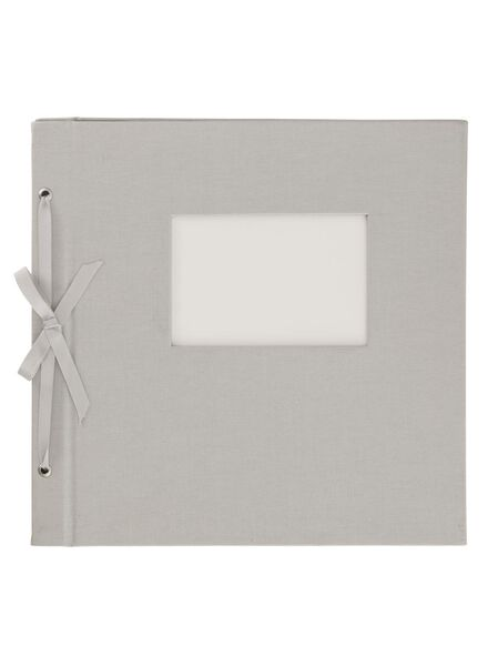 HEMA Photo Album With Window 29x26.5 Silver from HEMA