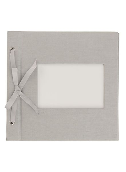 HEMA Photo Album With Window 22x22.4 Silver from HEMA