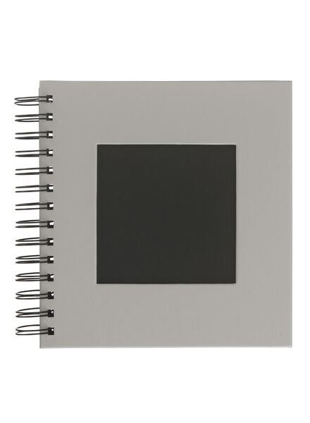HEMA Photo Album With Window 19x18 Grey from HEMA