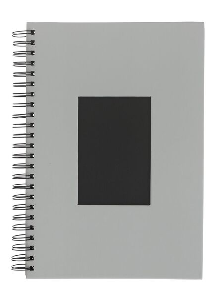 HEMA Photo Album With Window 31.5x21.5 Grey from HEMA