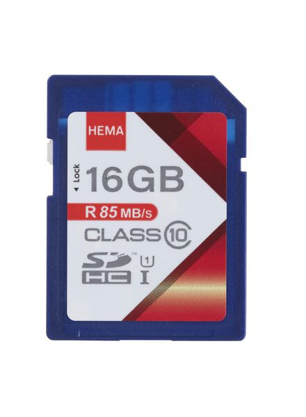 HEMA SD Memory Card 16 GB from HEMA
