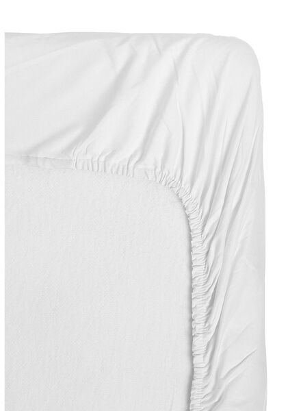 HEMA Toddler Fitted Sheet - 70 X 150 Cm (white) from HEMA
