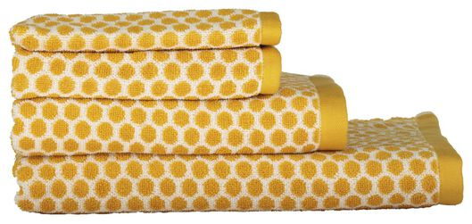 HEMA Towels - Heavy Quality - Dotted Yellow Ochre (yellow ochre) from HEMA