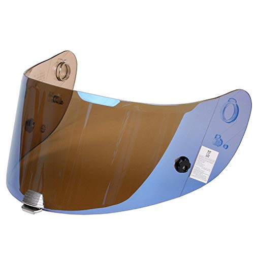 HJC Helmet Hj-20 visor (Rst Blue Mirror) Shield Rpha-10, Rps-10, Pinlock Ready from HJC