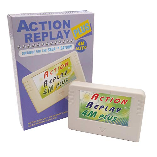 Action Replay 4M Plus - Ultimate enhancement for your Saturn console from HKEMS