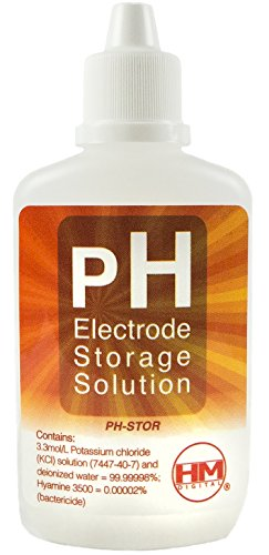 HM Digital PH-STOR PH Electrode Storage Solution for Use with PH-200 or PH-80, 60cc Volume from HM Digital