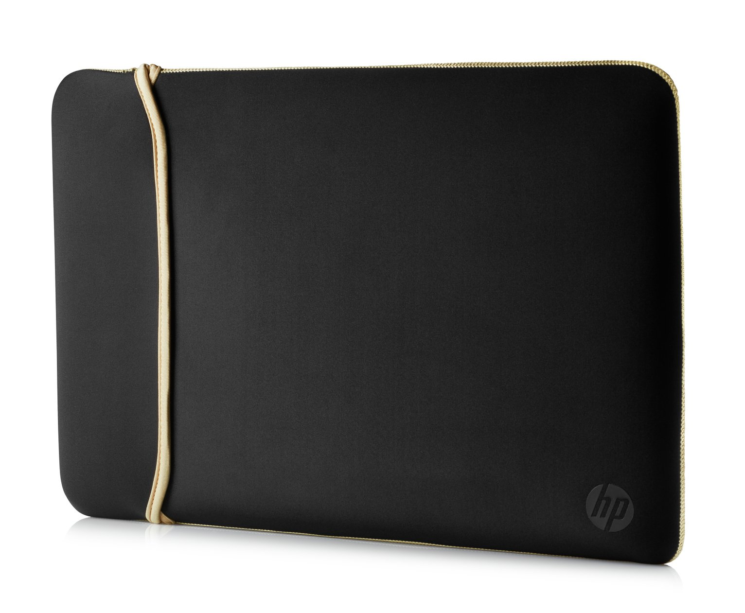 HP 14 Inch Reversible Laptop Sleeve - Gold & Black from HP
