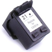 Compatible Black HP 21 Ink Cartridge (Replaces HP C9351AE) from Printerinks