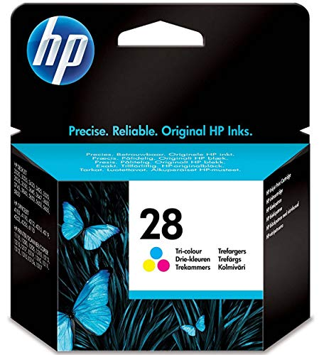 HP C8728AE 28 Original Ink Cartridge, Tri-Colour, Single Pack from HP